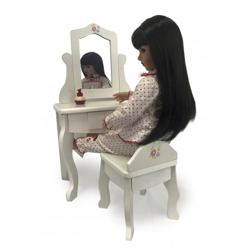 Doll Vanity with Bench