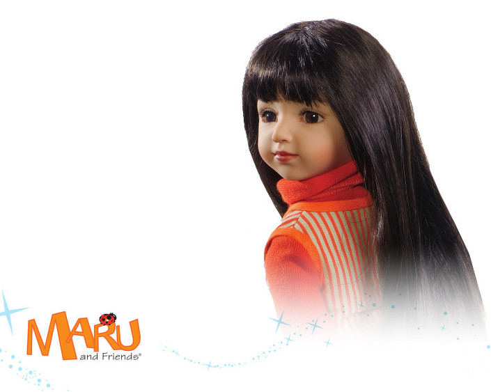 Maru and Friends®, a doll line with storybooks that would chronicle the life of a young Hispanic girl that comes to America in search of a better life.